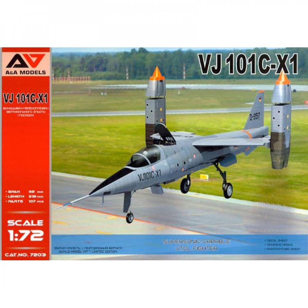 VJ101C-X1 Supersonic VTOL fighter  1/72 A&A Models 7203