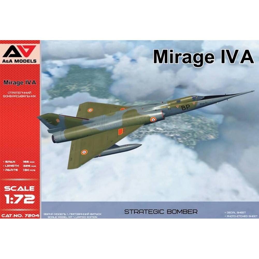 Mirage IVA Strategic bomber  1/72 A&A Models 7204