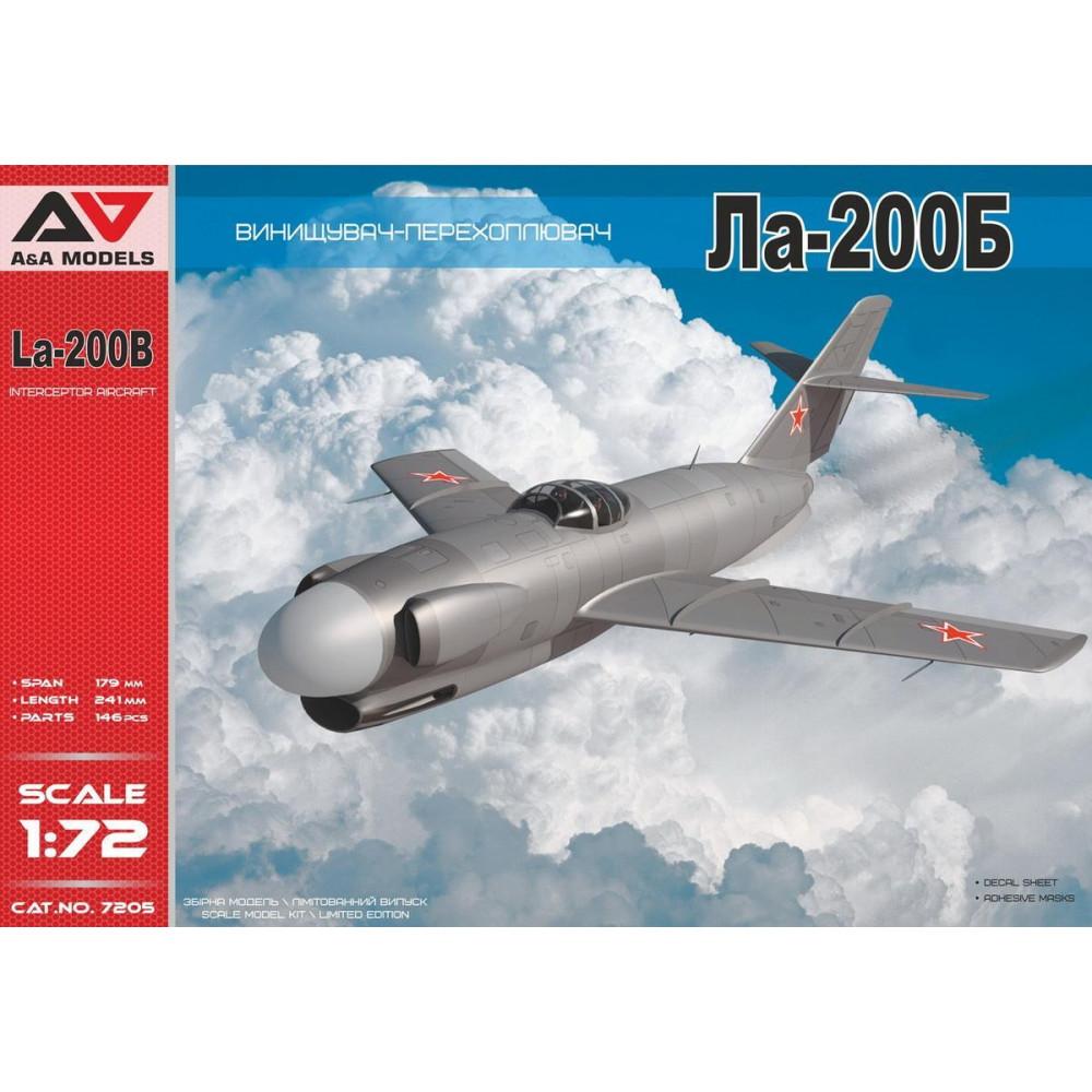 Lavochkin La-200B  1/72 A&A Models 7205
