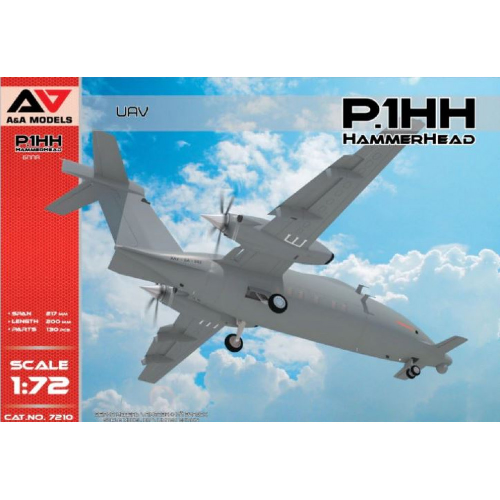 P.1HH HammerHead UAV 1/72 A&A Models 7210