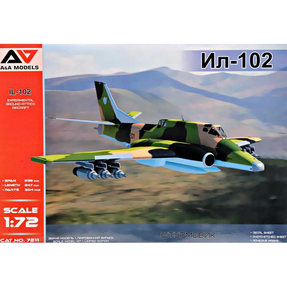 IL-102  1/72 A&A Models 7211