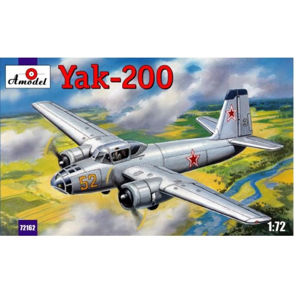 Yakovlev Yak-200 1/72 Amodel 72162