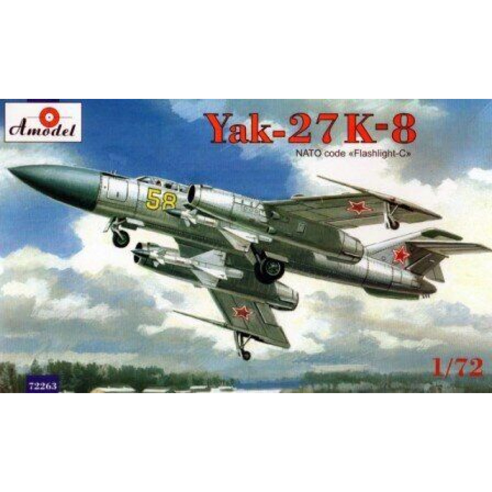 Flashlight-C Yak-27K-8 1/72 Amodel 72263