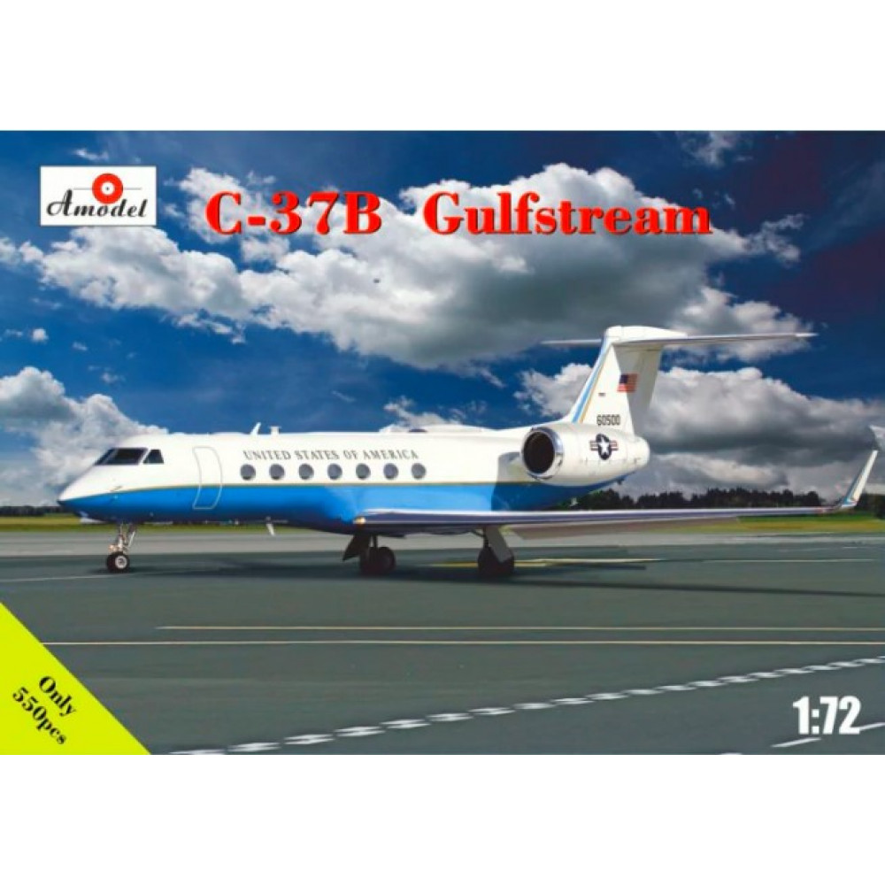 C-37B Gulfstream business jet  1/72 Amodel 72327