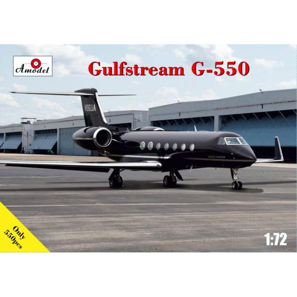 G-550 Gulfstream business jet  1/72 Amodel 72361