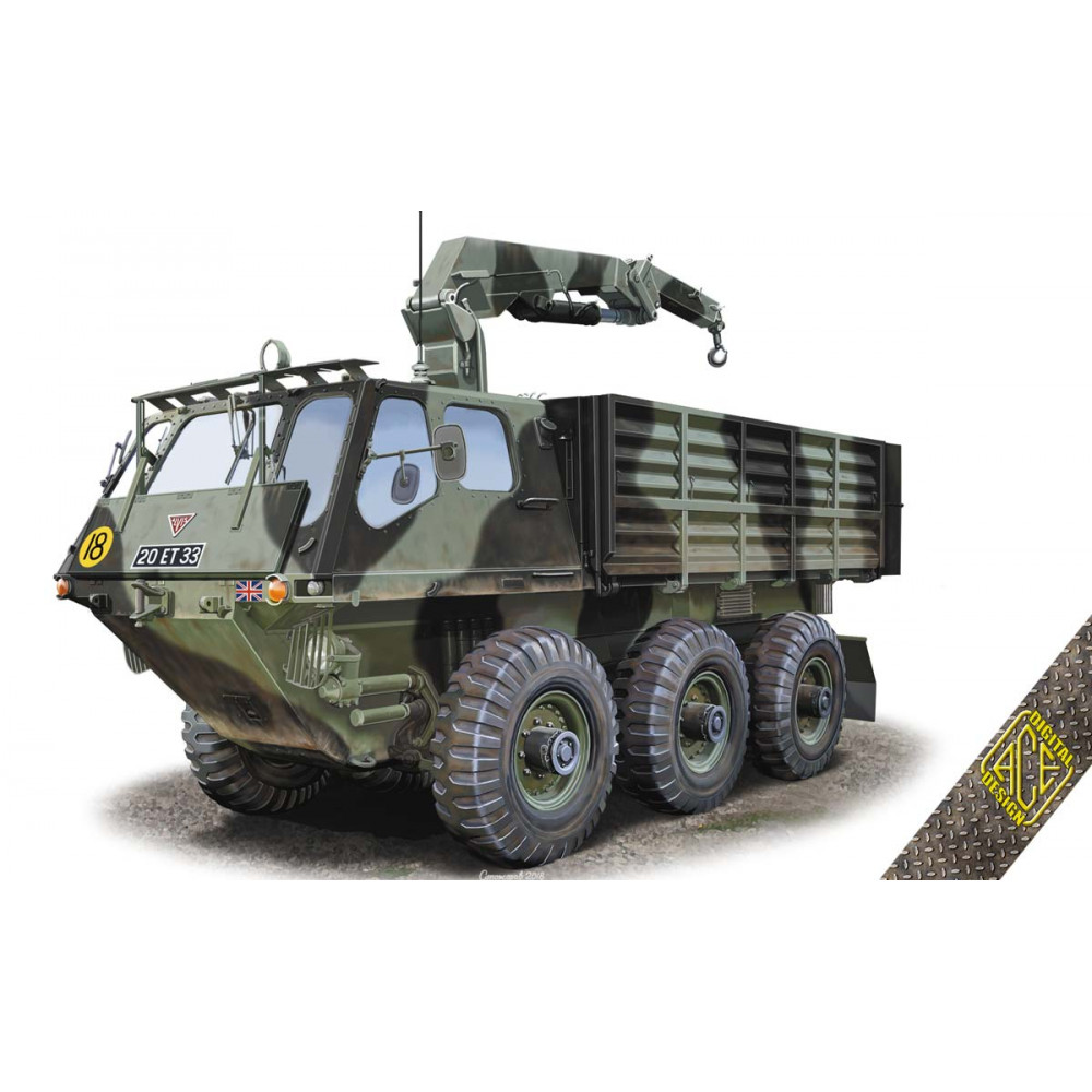 FV-623 Stalwart Mk.2 limber vehicle 1/72 ACE 72436