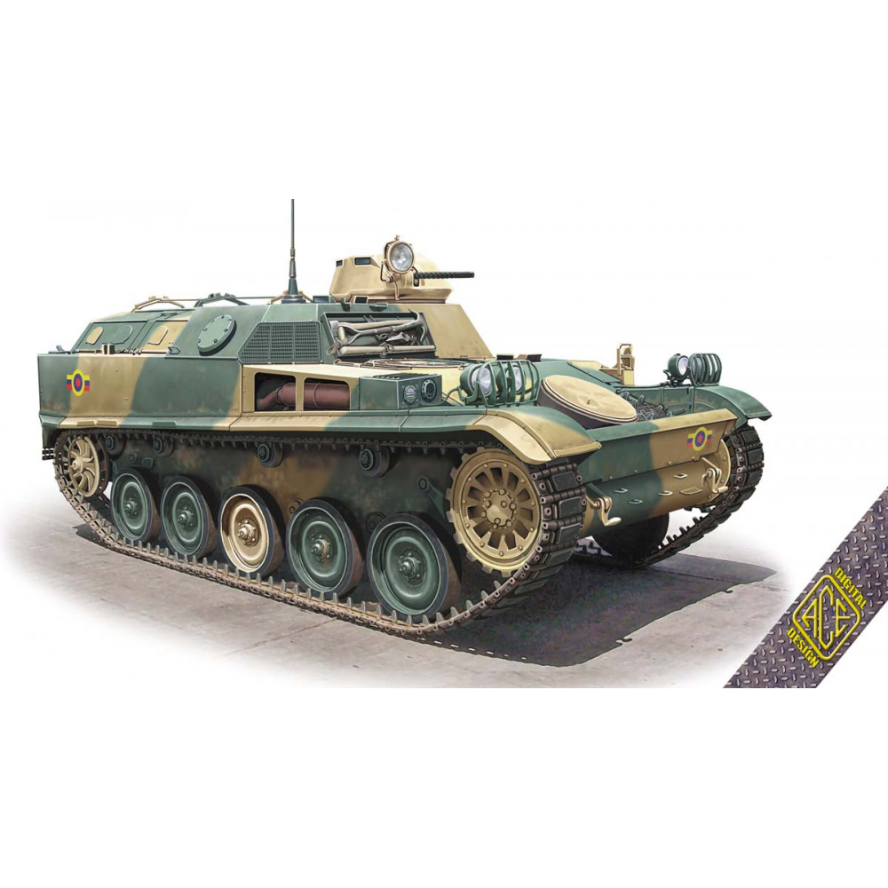 French armored personnel carrier AMX-VCI 1/72 ACE 72448