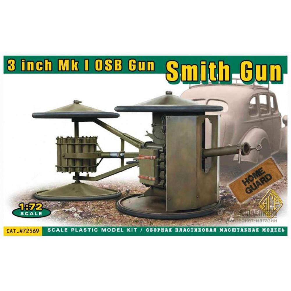 3 inch Mk I OSB Gun 1/72 ACE 72569