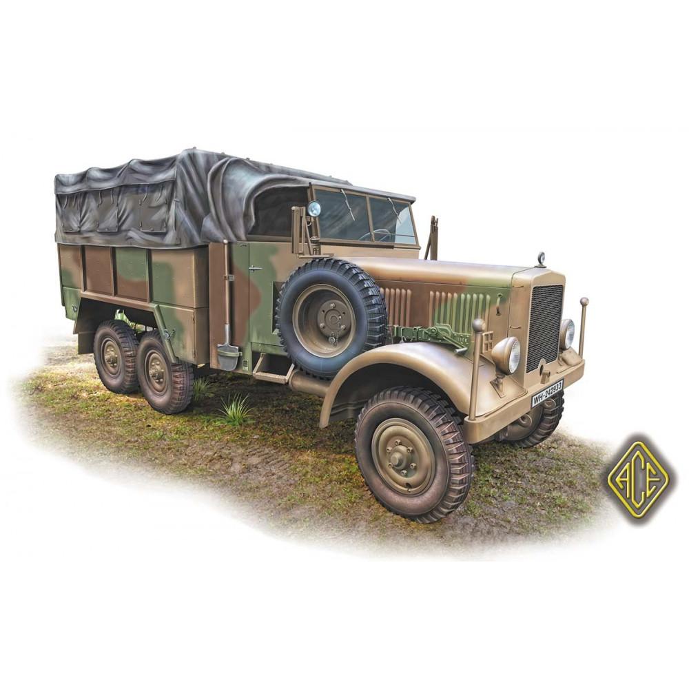 Einheints-Diesel 2,5t 6x6 LKW 1/72 ACE 72578