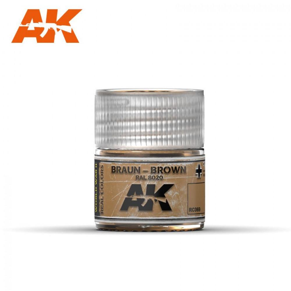 RC069 AK - Браун-Коричневый RAL 8020 10 мл