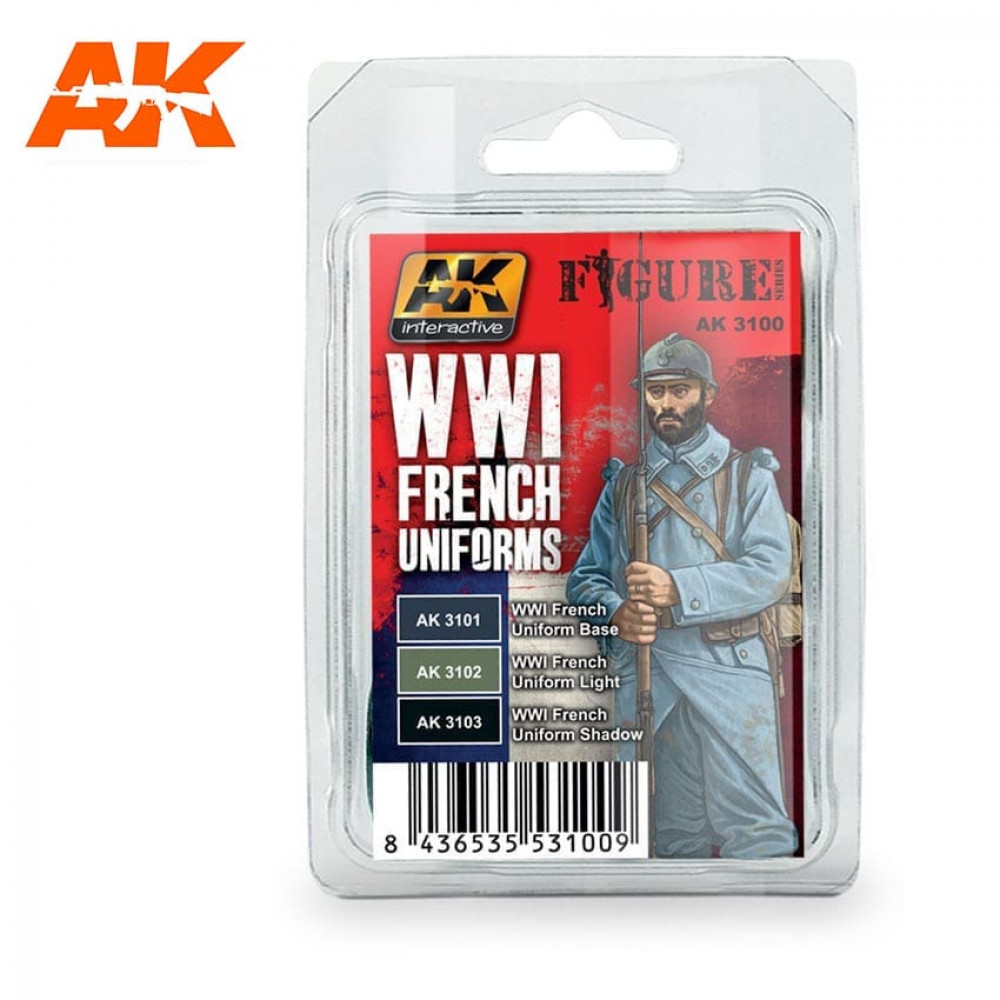 AK3100 AK - WWI French Uniform 17ml