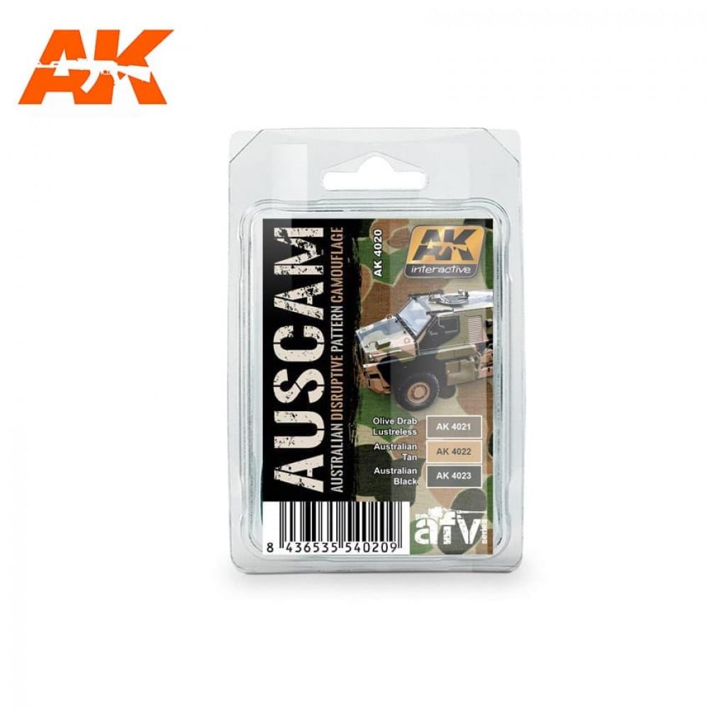AK4020 AK - Australian Camouflage Colors 17ml