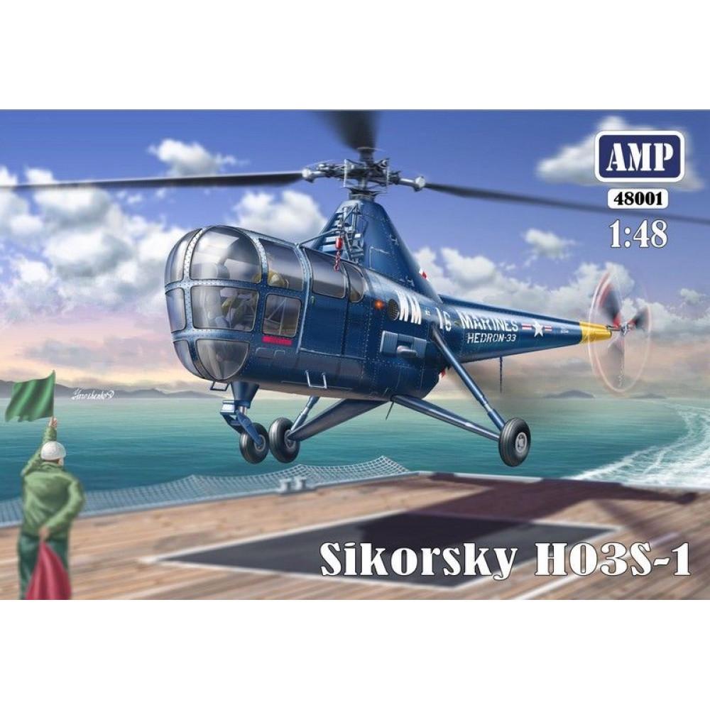 Sikorsky HO3S-1 1/48 AMP 48-001