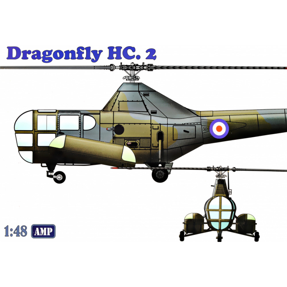 Westland WS-51 Dragonfly HC.2  rescue 1/48 AMP 48-003