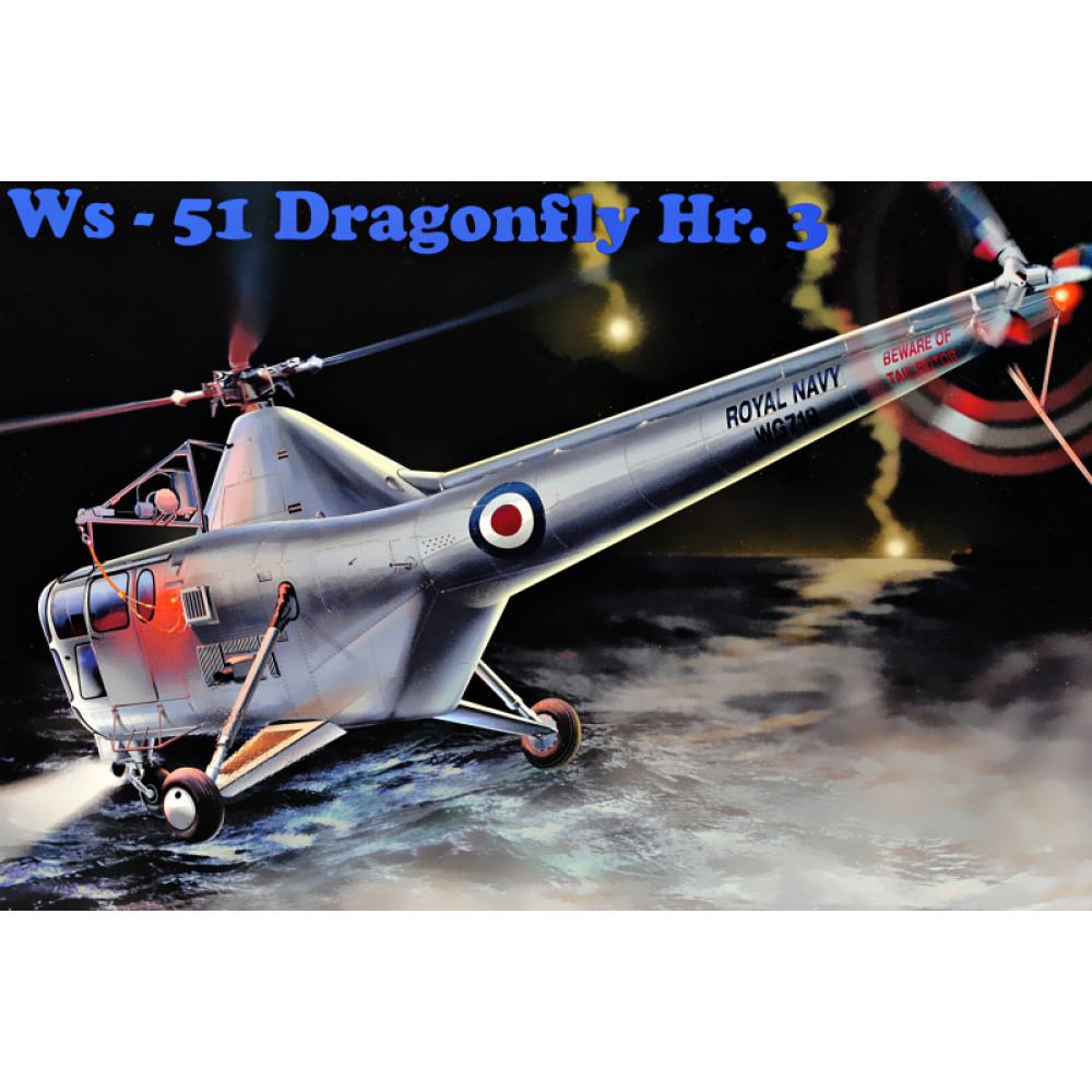 WS-51 Dragonfly HR/3 Royal Navy 1/48 AMP 48-004