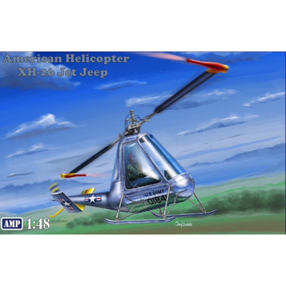 American Helicopter XH-26 Jet Jeep 1/48 AMP 48-007