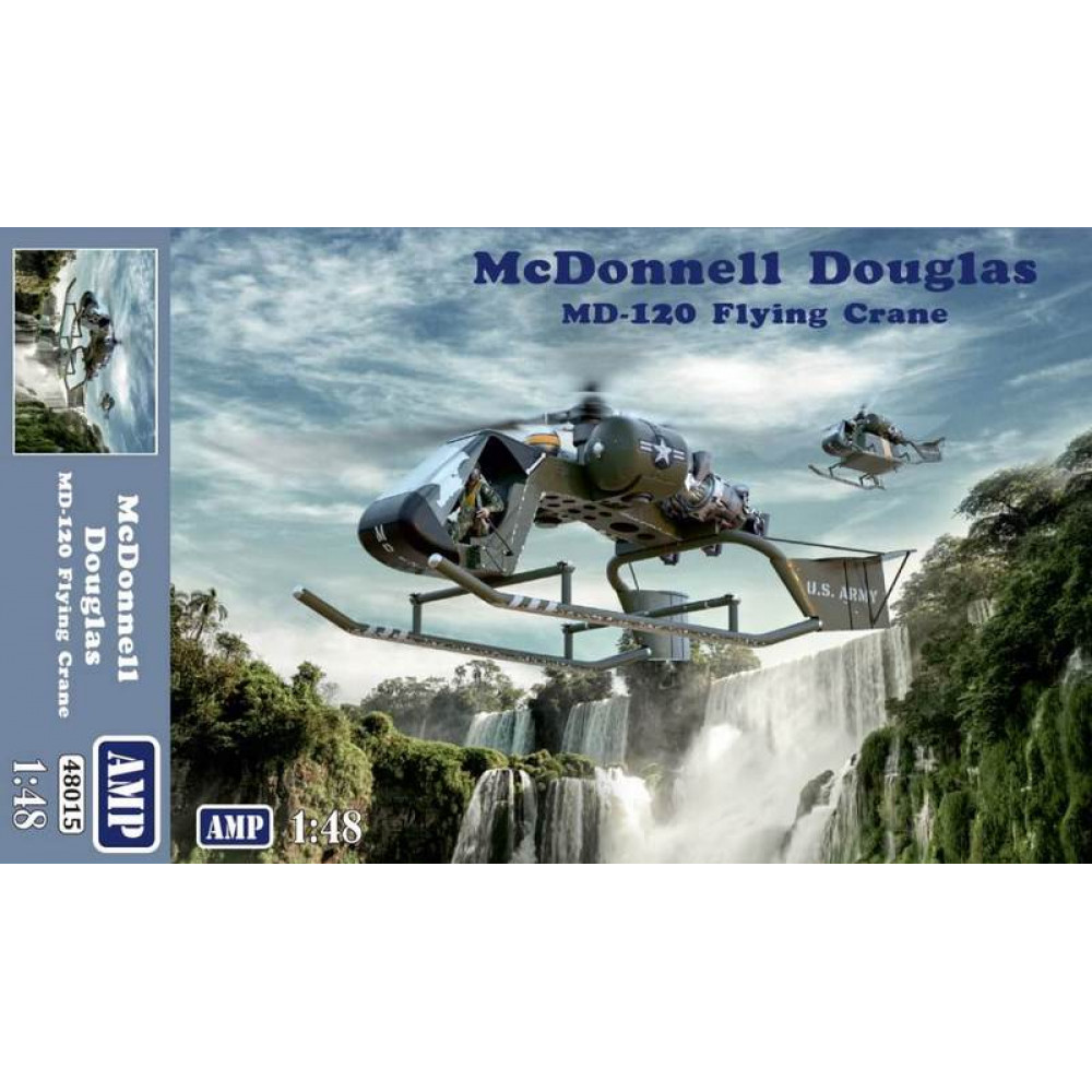 HelicopterMcDonnell Model 120 Flying Crane 1/48 AMP 48015