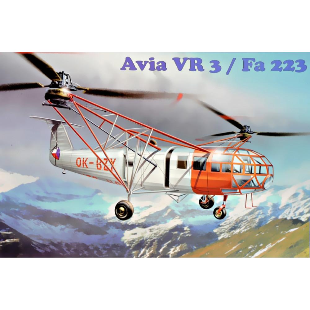 Avia Vr-3/Fa-223 1/72 AMP 72-005