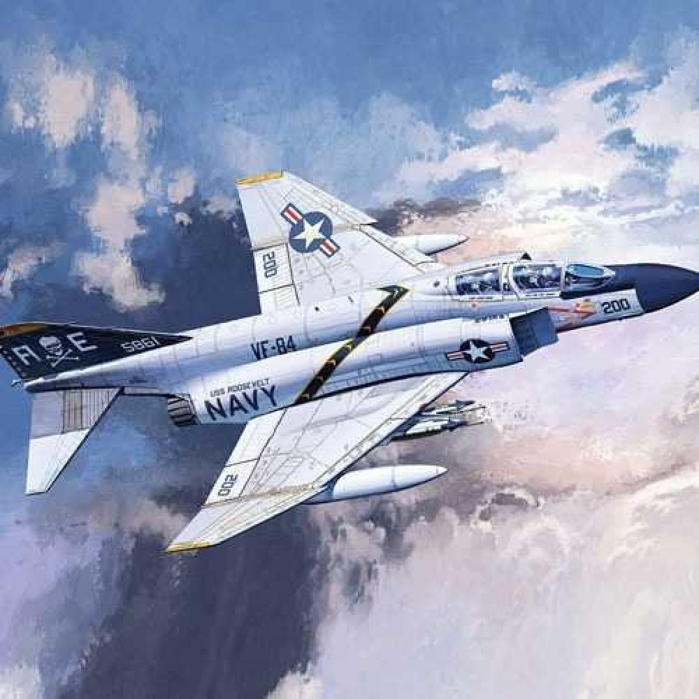 F-4J 'VF-84 JOLLY LOGERS' 1/72 Academy 12529