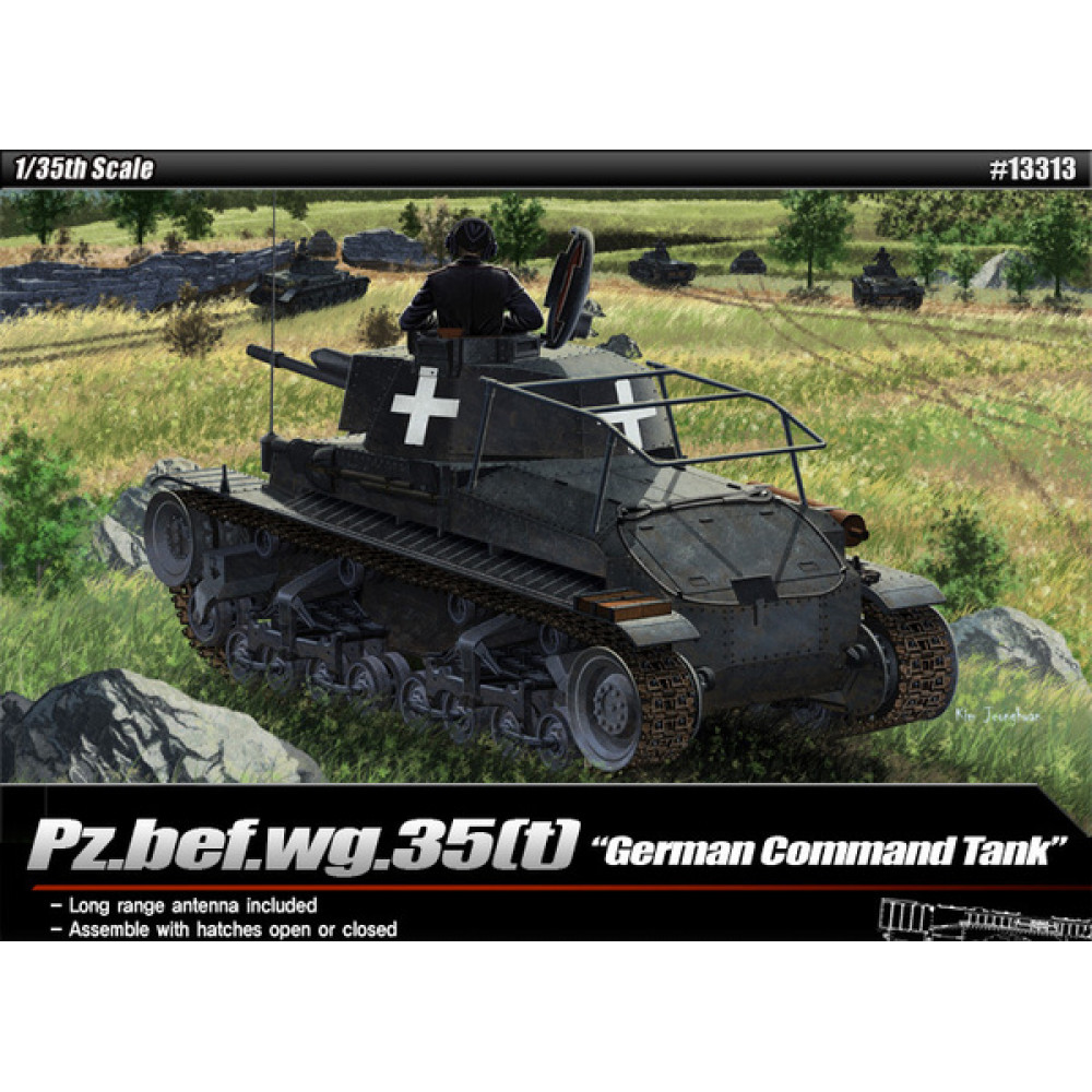 "Pz.bef.wg.35(t) ""German Command Tank""  1/35 Academy 13313"