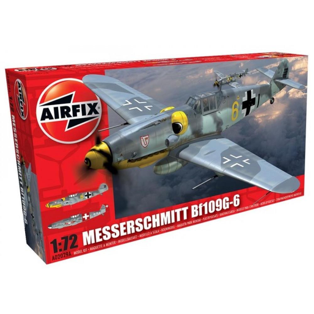 Messerschmitt Bf109G-6 1/72 Airfix   02029a