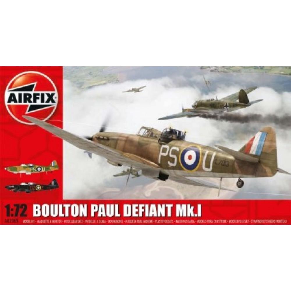 Boulton Paul Defiant Mk.I  1/72 Airfix  02069