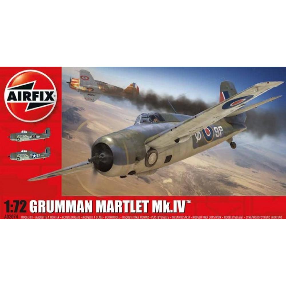 Grumman Martlet Mk.IV  1/72 Airfix   02074