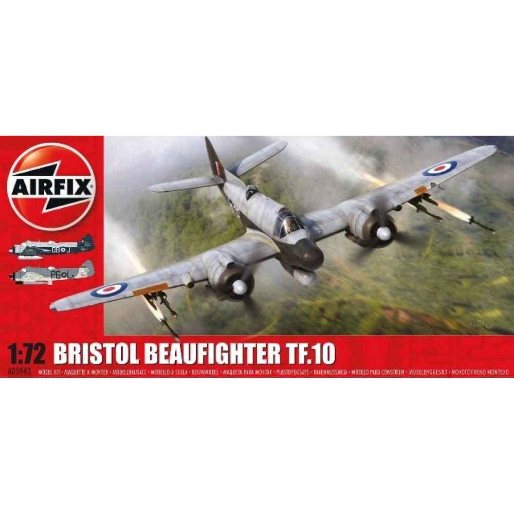 Bristol Beaufighter Mk.X Late/TF.10  1/72 Airfix   05043