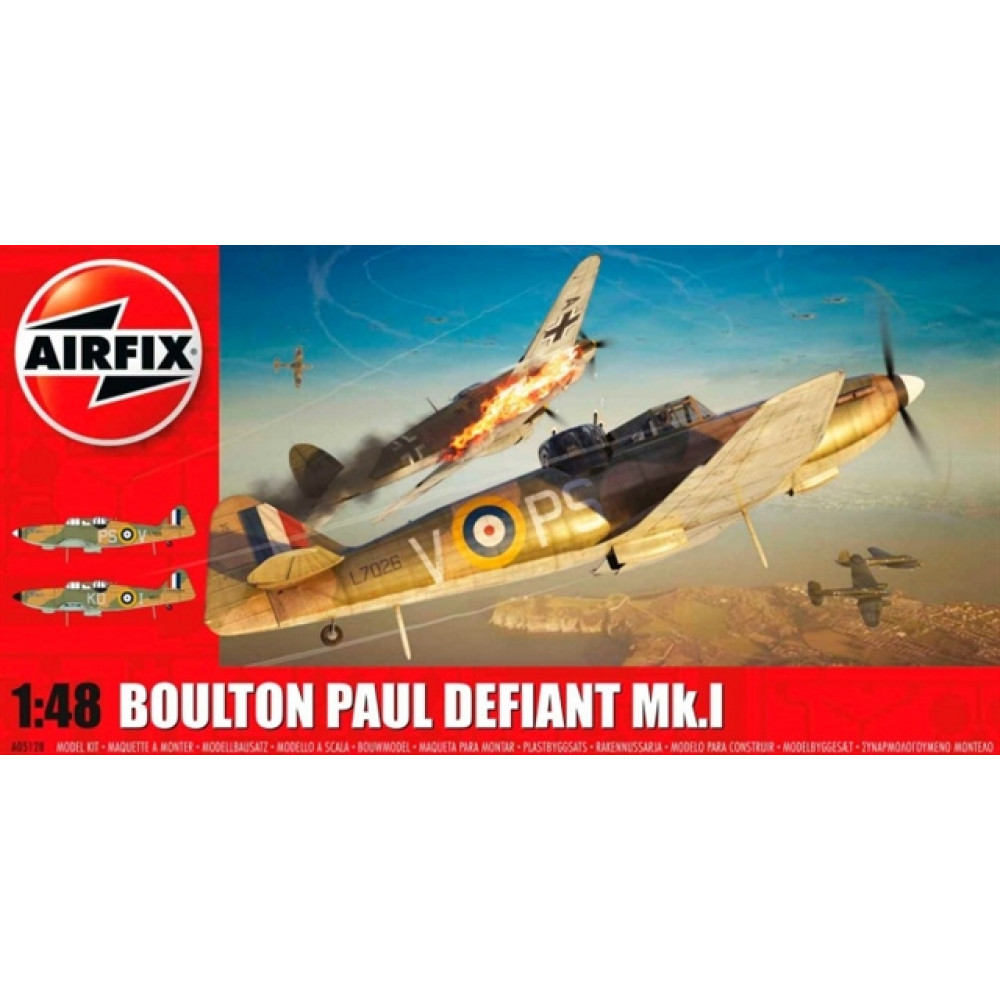 Boulton Paul Defiant Mk1  1/48 Airfix   05128