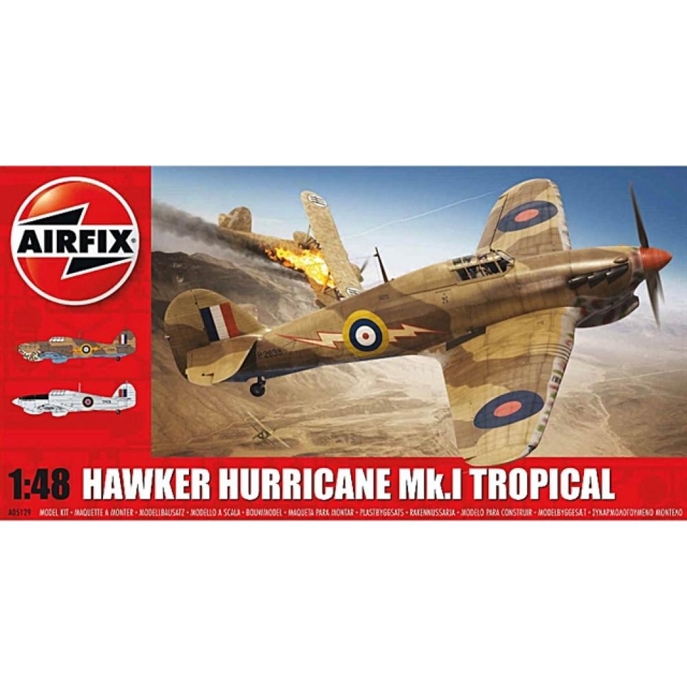 Hawker Hurricane Mk. I Tropical  1/48 Airfix   05129