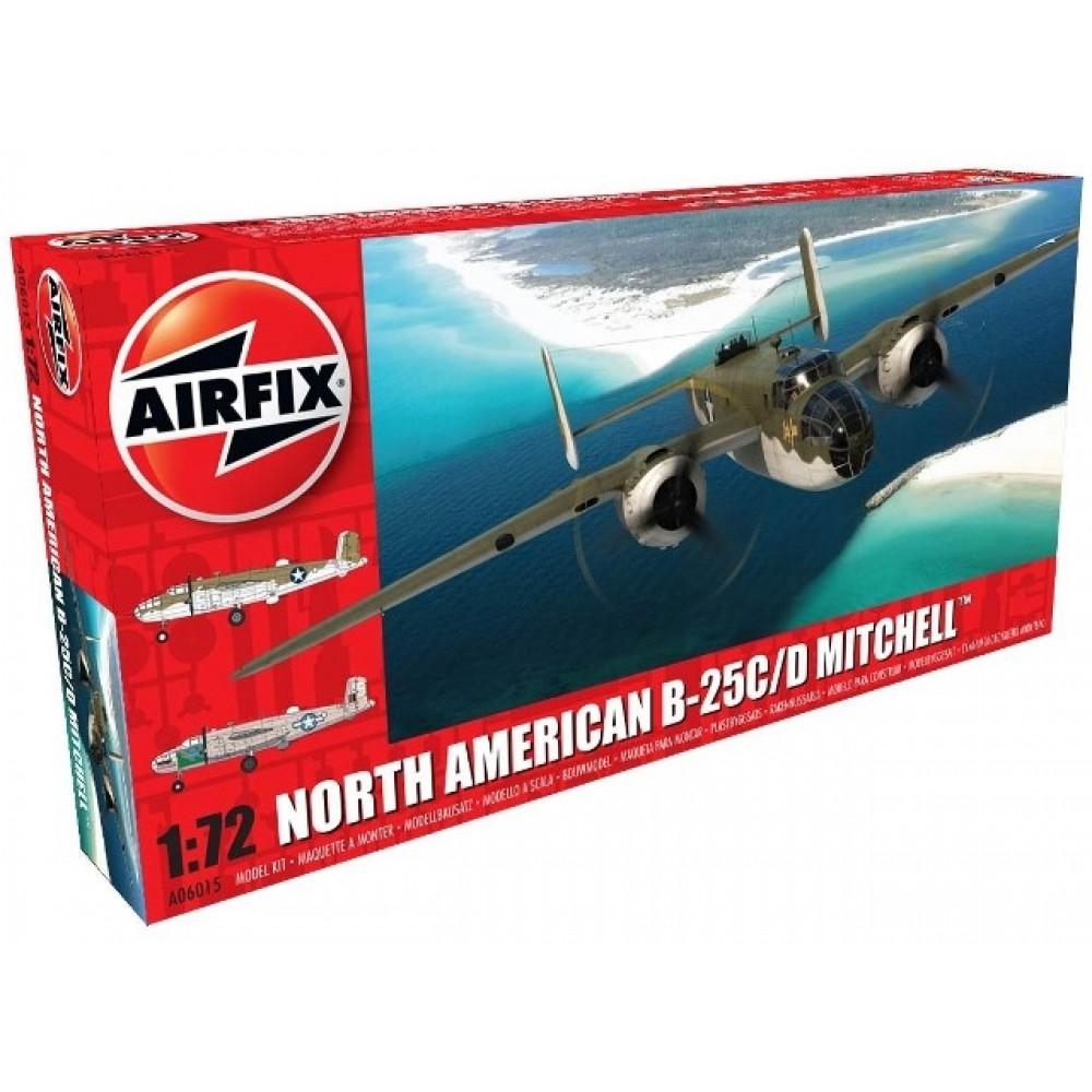 North American B-25C/D Mitchell  1/72 Airfix   06015