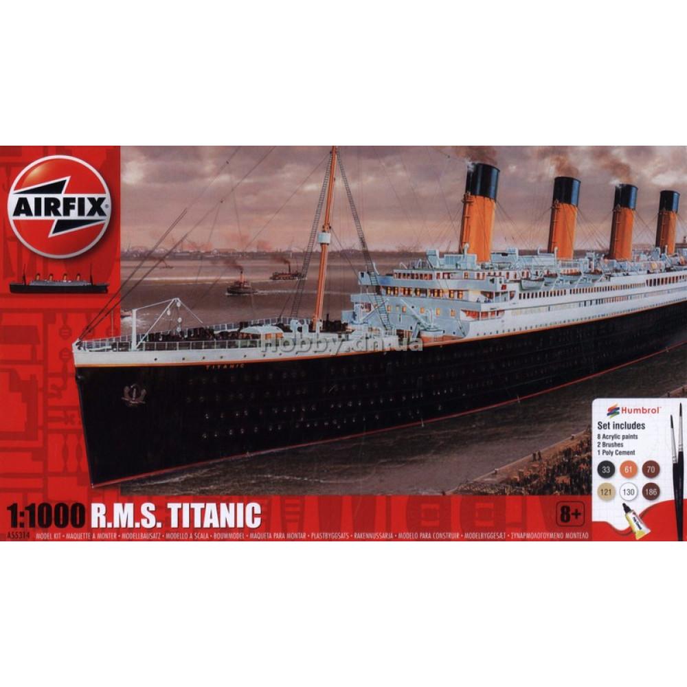 RMS Titanic Gift Set 1/1000 Airfix 55314