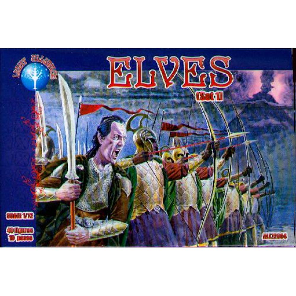Elves set1  1/72 Alliance 72004