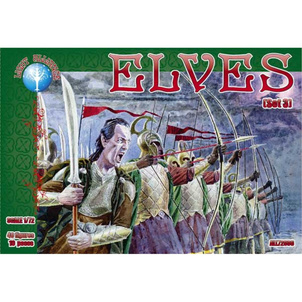 Elves. Set 3 (40 figures) 1/72 Alliance 72006
