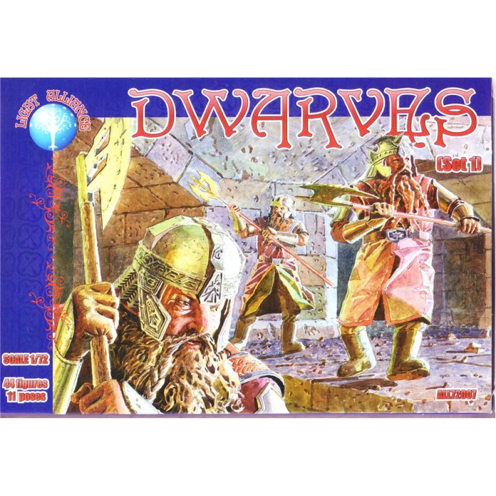 Dwarves set 1  1/72 Alliance 72007