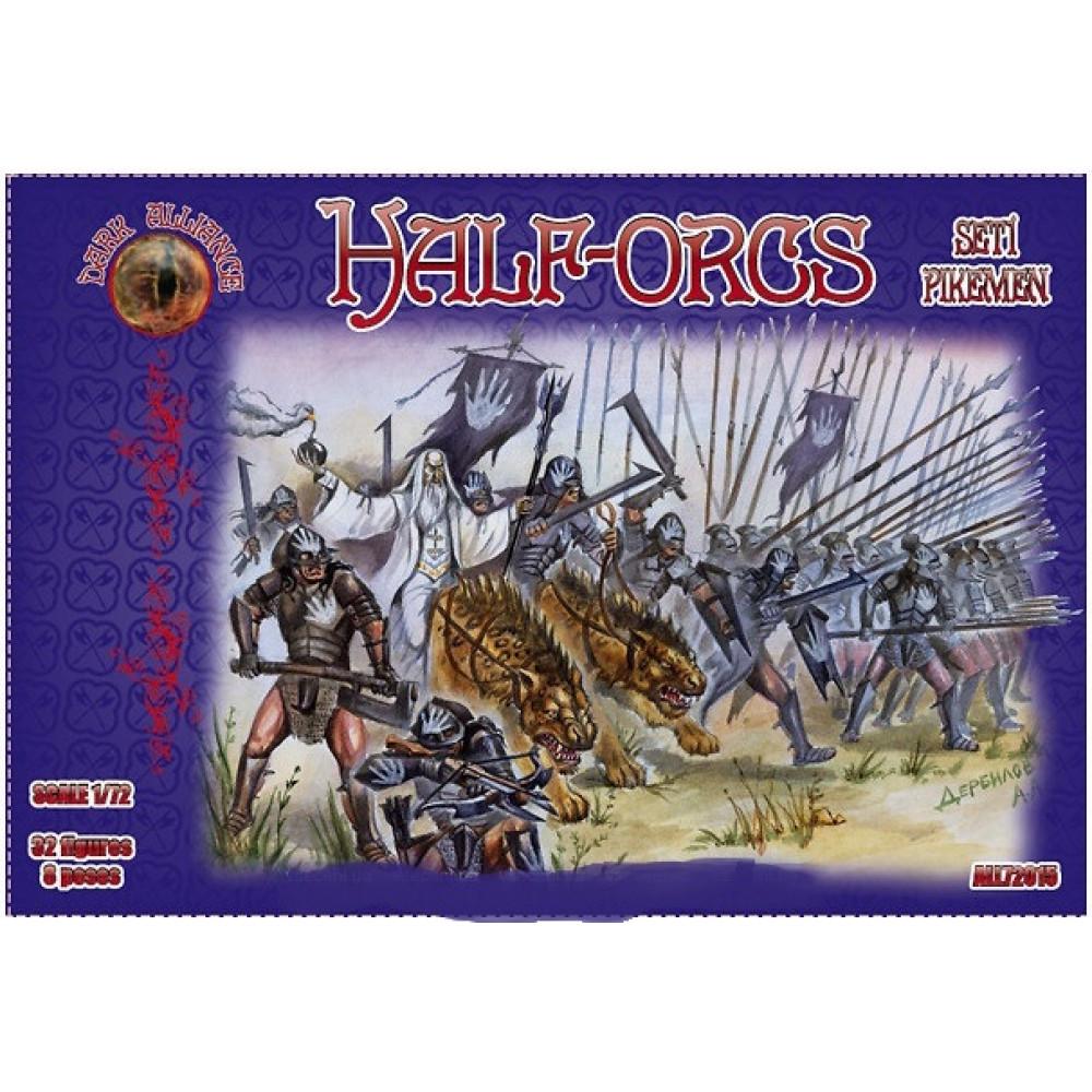 Half-orcs set1 1/72 Alliance 72015