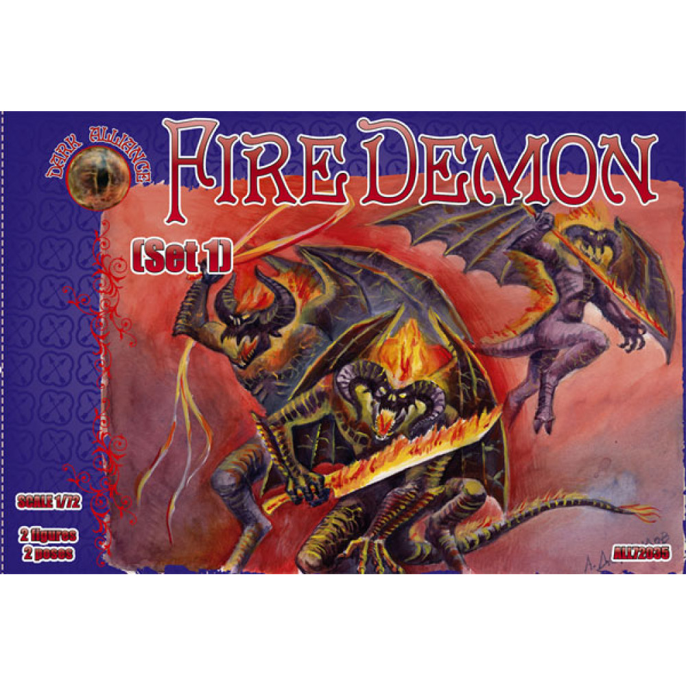 Fire Demon set 1  1/72 Alliance 72035