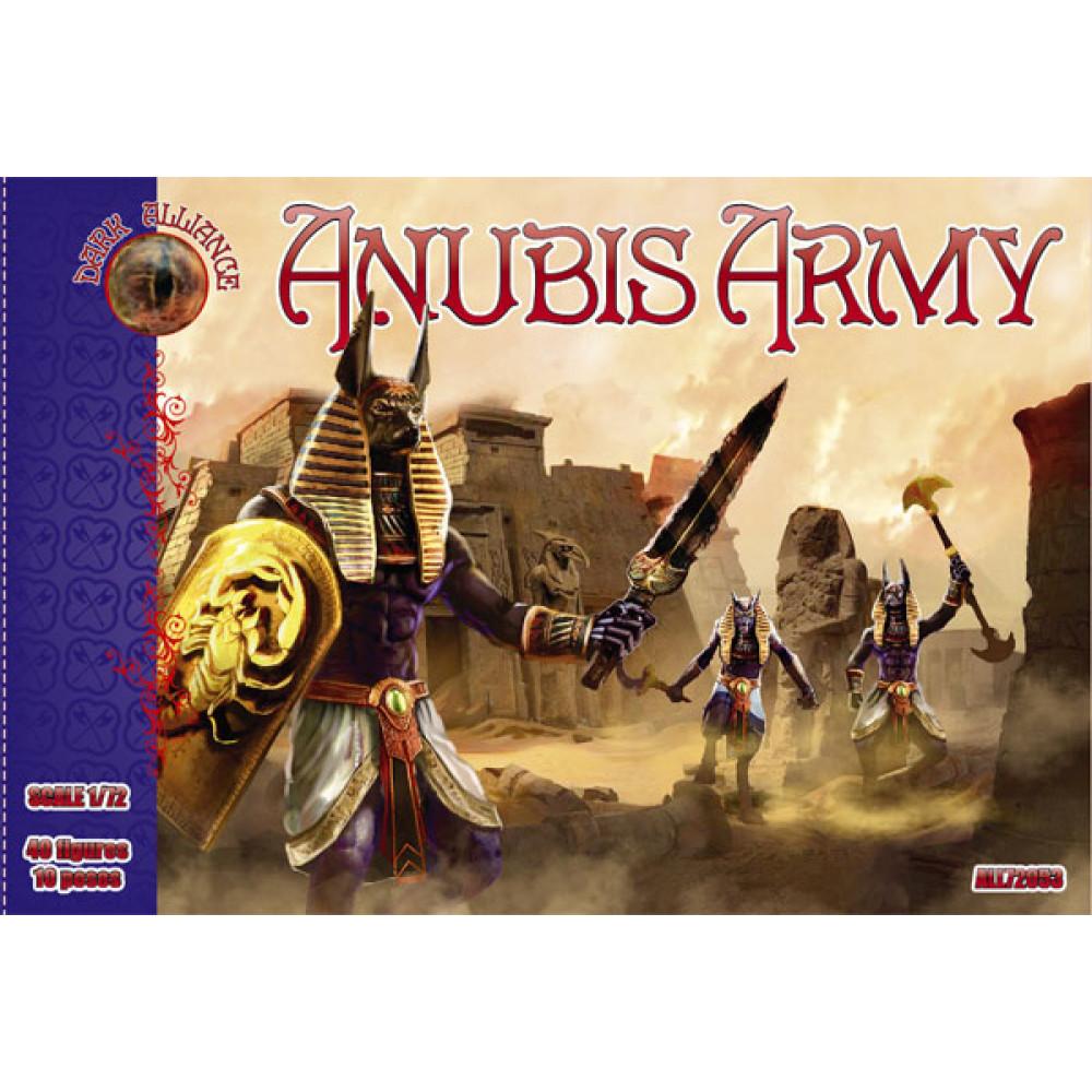 Anubis army (40 figures, 10 poses) 1/72 Alliance 72053