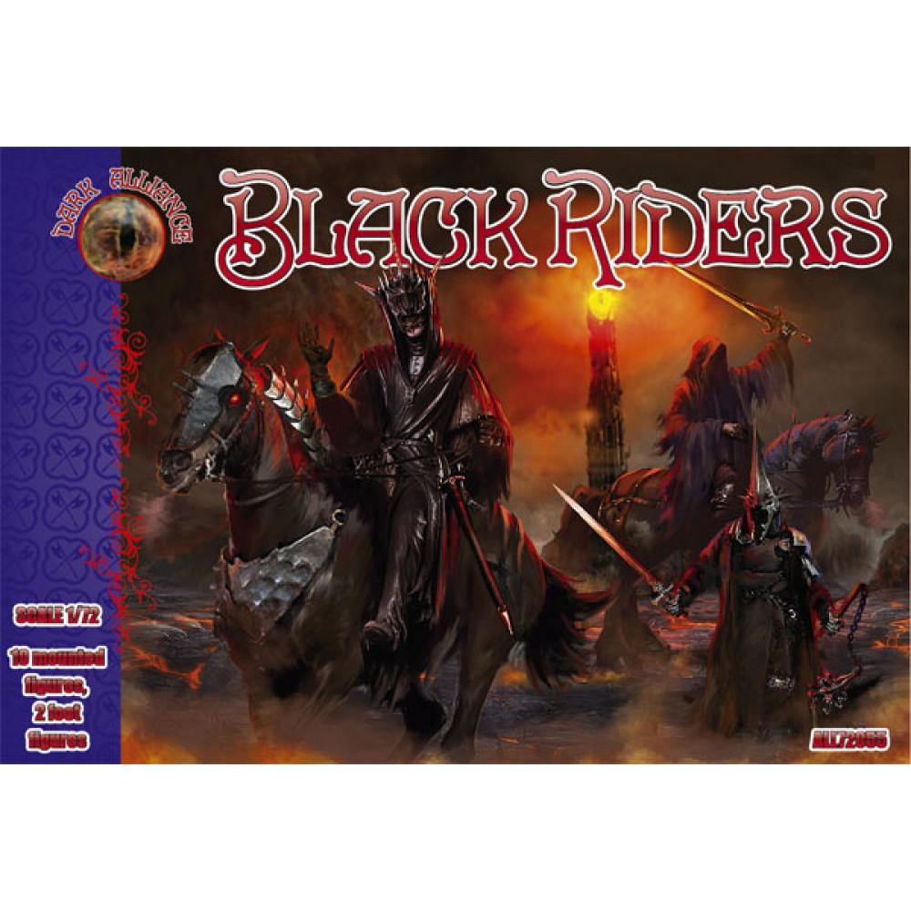 Black riders (10 mounted figures, 2 foat figures) 1/72 Alliance 72055