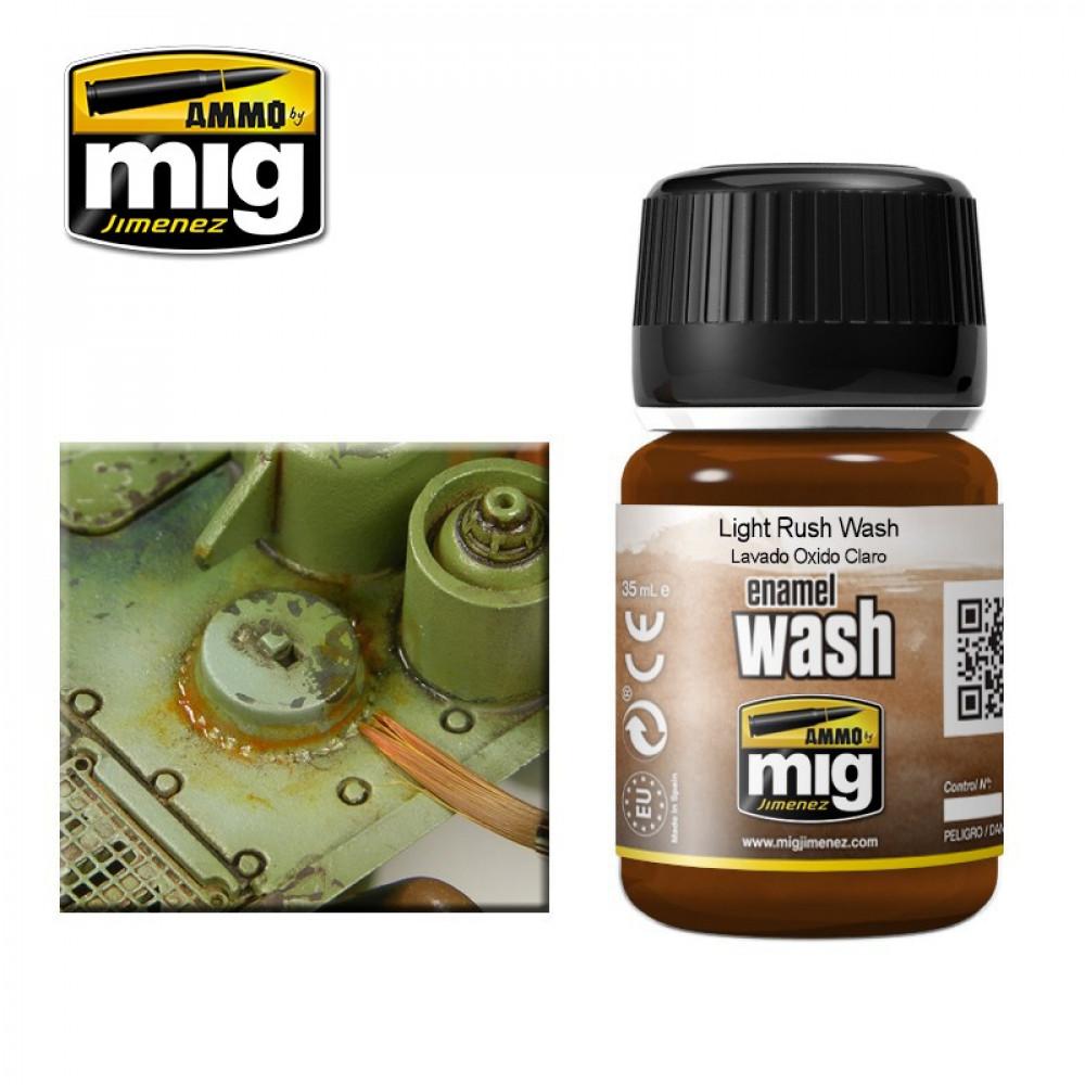 Light rust Wash Ammo Mig 1004