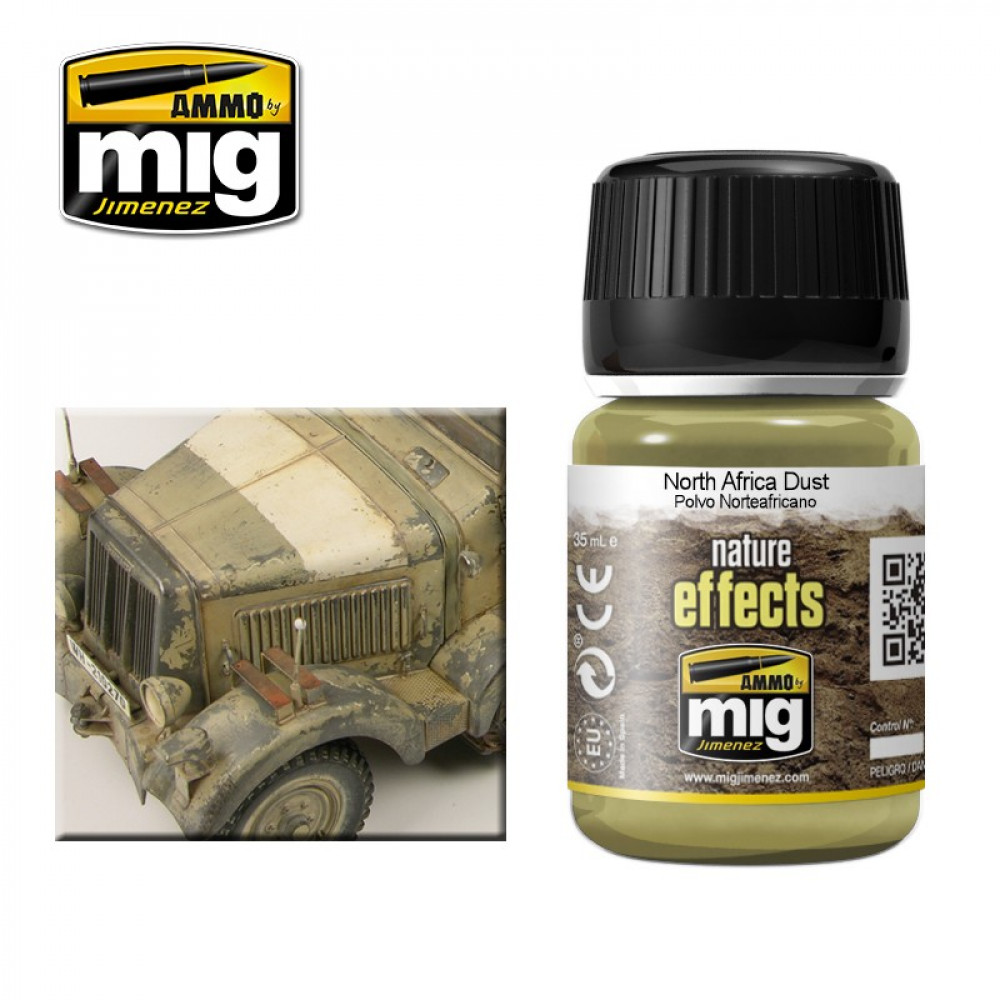 NORTH AFRICA DUST - Nature effect Ammo Mig AMIG1404