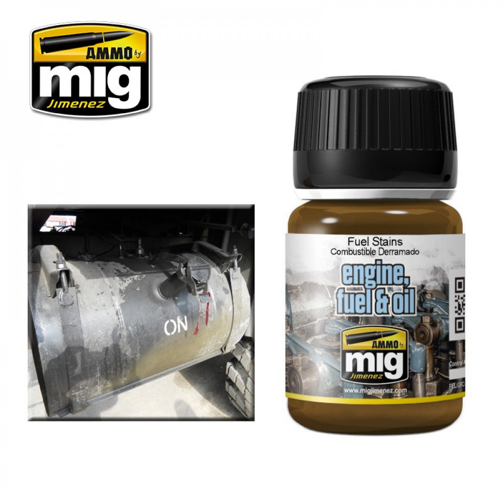 FUEL STAINS 35 ml Ammo Mig 1409