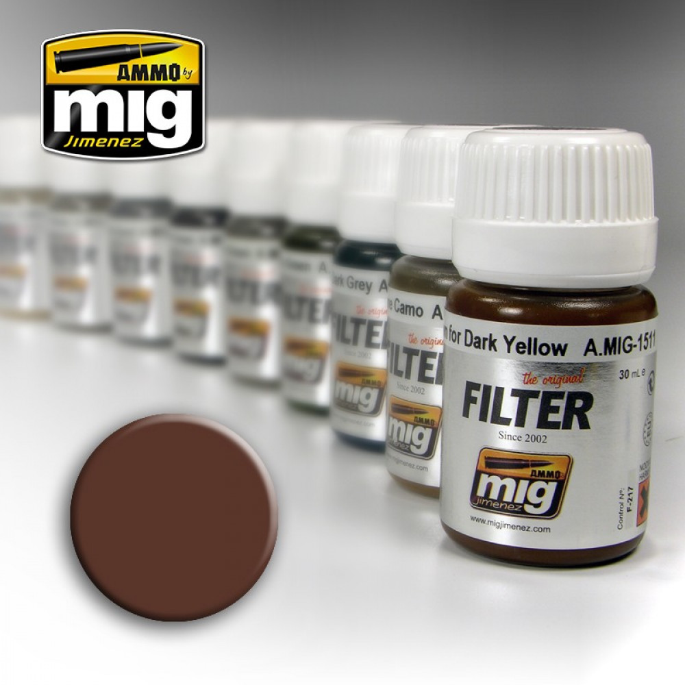 Brown for white 30ml Ammo Mig 1500