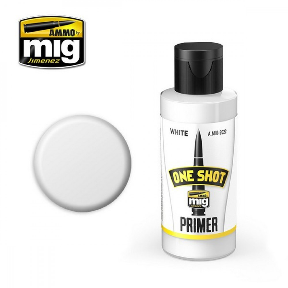 ONE SHOT PRIMER - WHITE AmmoMig 2022