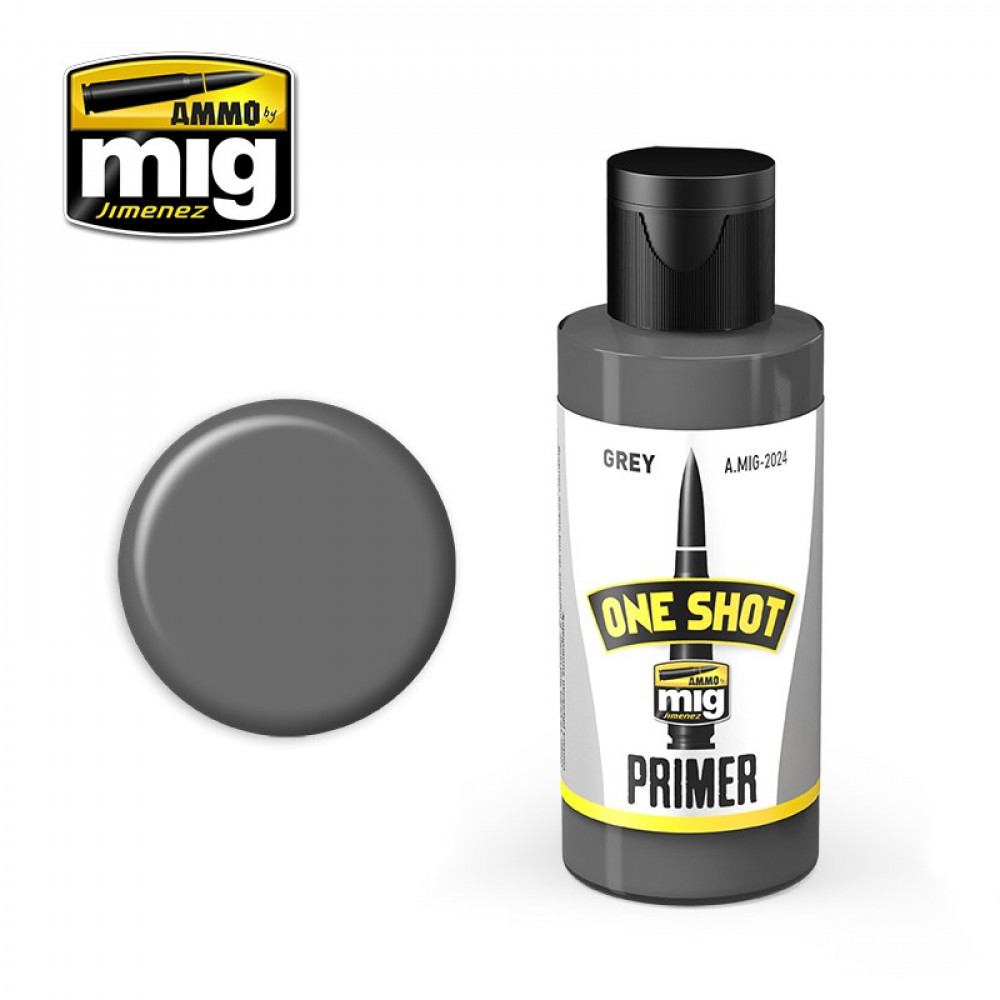 ONE SHOT PRIMER - GREY AmmoMig 2024