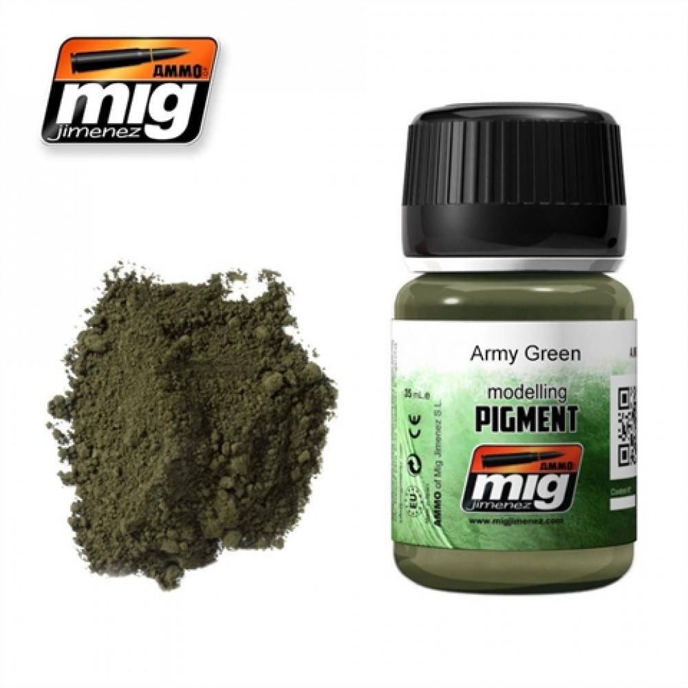 Army green   Ammo Mig  3019