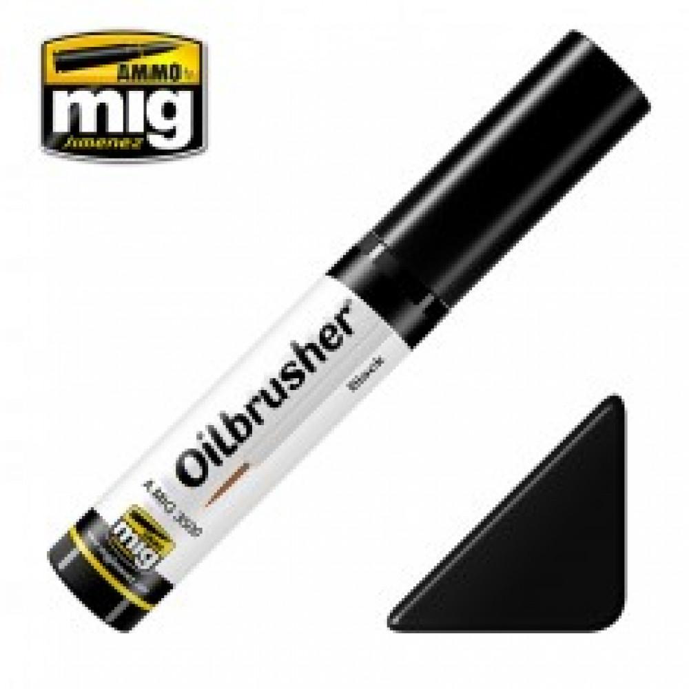 BLACK - OILBRUSHER