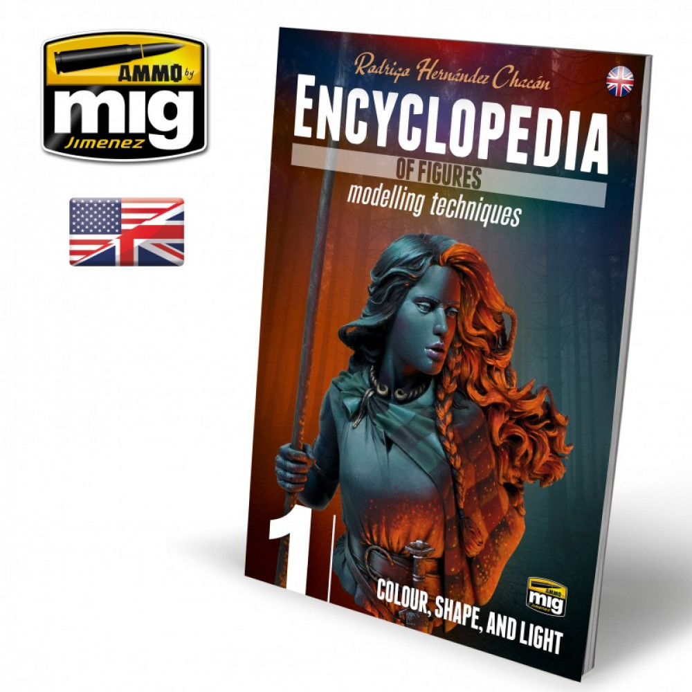 ENCYCLOPEDIA OF FIGURES MODELLING TECHNIQUES VOL. 1 - COLOUR, SHAPE, AND LIGHT (English)