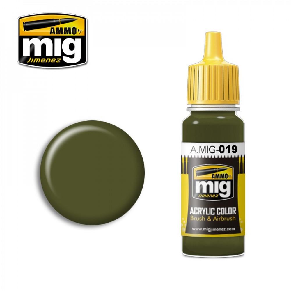 4BO RUSSIAN GREEN AMIG0019 AmmoMig (17ml)