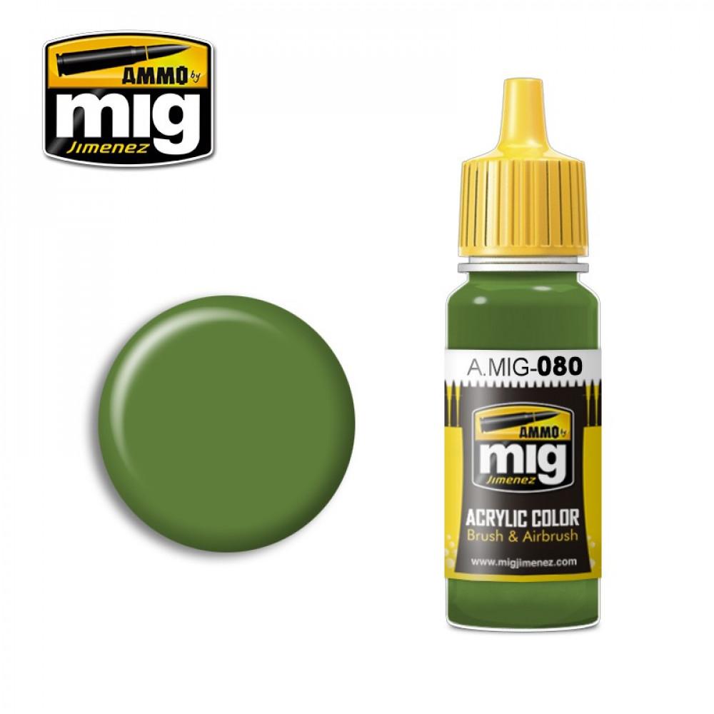 BRIGHT GREEN AMT-4 AMIG0080 AmmoMig (17ml)